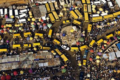 Marché, Lagos, Nigéria