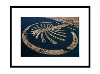 Palm Jumeirah artificial island, Dubai