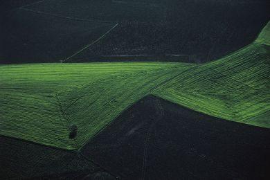 Paysage agricole, Turquie