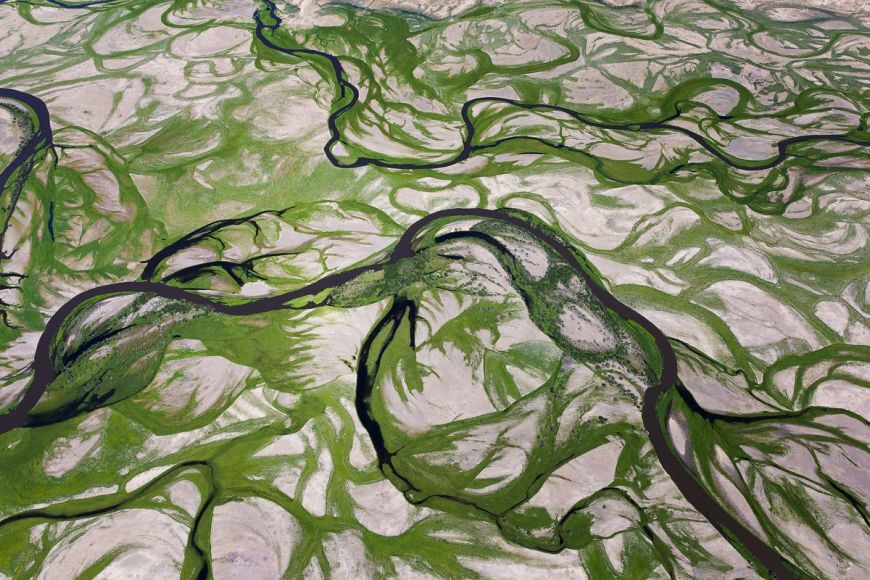 Rivière Tuul, Mongolie
