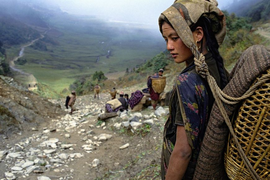 Himalayans, porters, Nepal