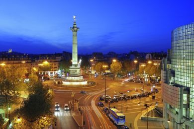 Colonne de Juillet, Bastille square, Paris, France