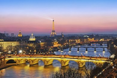 The pont Neuf, Paris, France