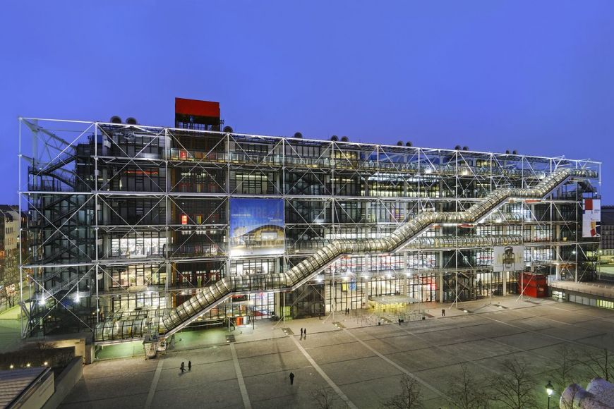 Georges Pompidou, Paris, France
