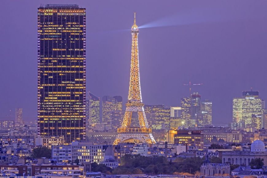 Vue générale, Paris, France