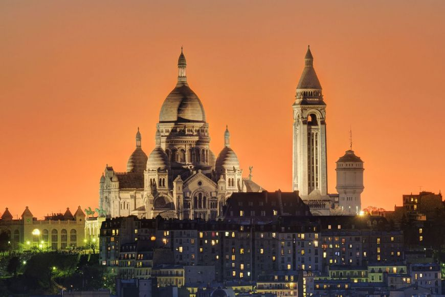Basilique du Sacré-Coeur, Paris, France