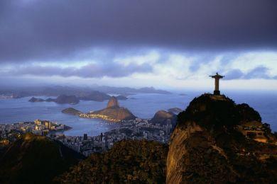 The Corcovado, Rio de Janeiro