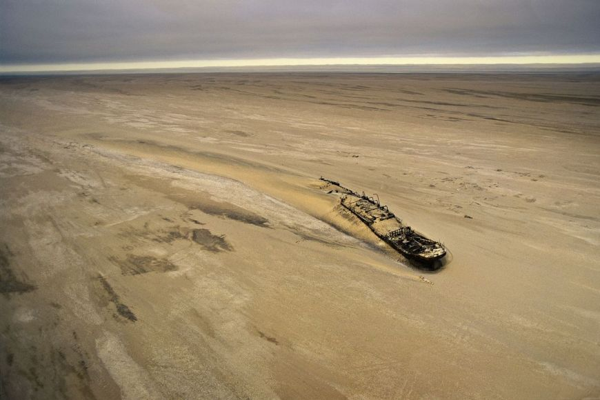 Epave du navire Eduard Bohlen, Namibie