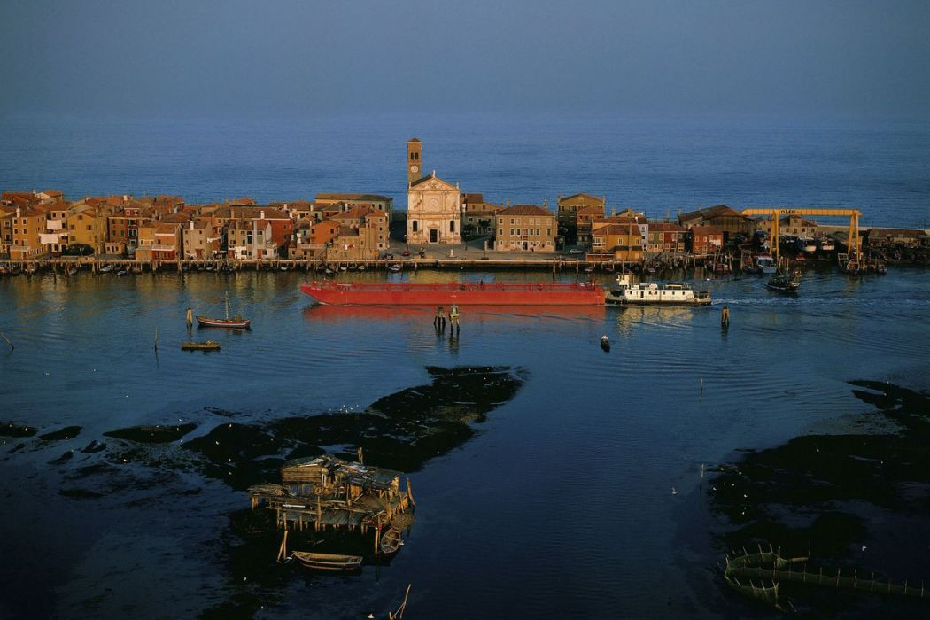 Fishermen's village at Pellestrina, Venice