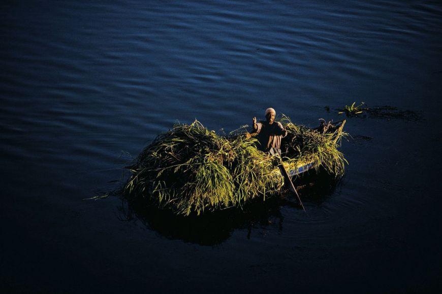 Paysan sur sa barque, Egypte