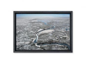 Glacial rill, Greenland