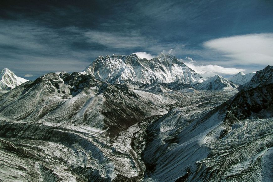 Mont Everest, Népal