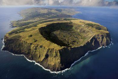 Volcan de Rano Kau, Ile de Pâques