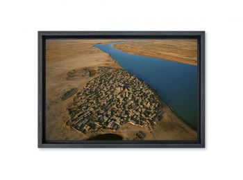 Village on  the Niger River, Mali