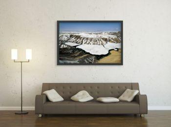 Montagnes enneigées en Afghanistan