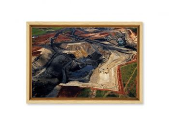 Open air coal mine, Republic of South Africa