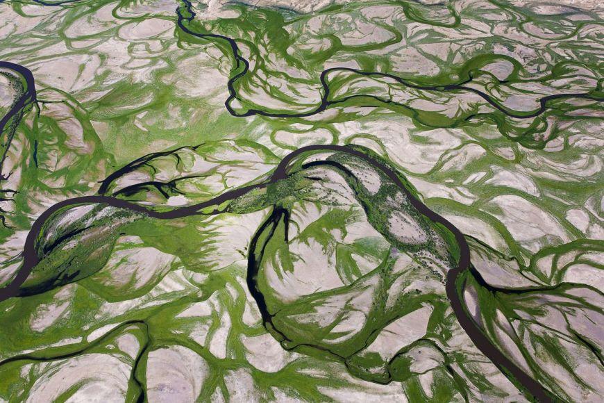 Tuul river, Mongolia
