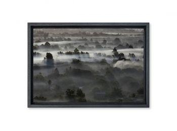 Brume près d'Angkor, Cambodge