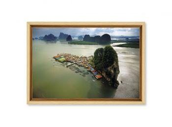 Village de Koh Pannyi, Thaïlande