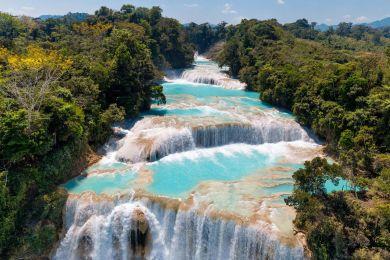 Agua Azul cascade, Mexico