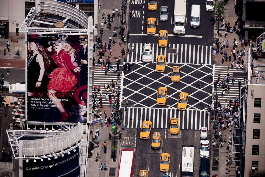 New York City, Manhattan, 7th Avenue